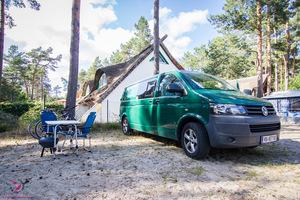 Read more about the article Campingurlaub an der deutschen Ostsee mit dem VW Bus