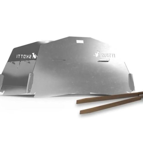 SKOTTI CAP mit Grillzange