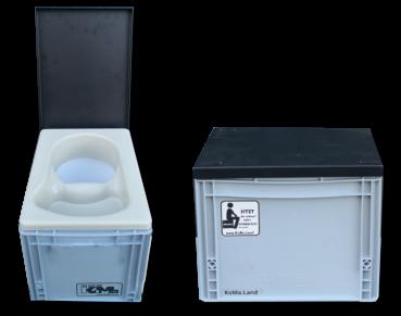 Mini-Trenntoilette alias KackBox